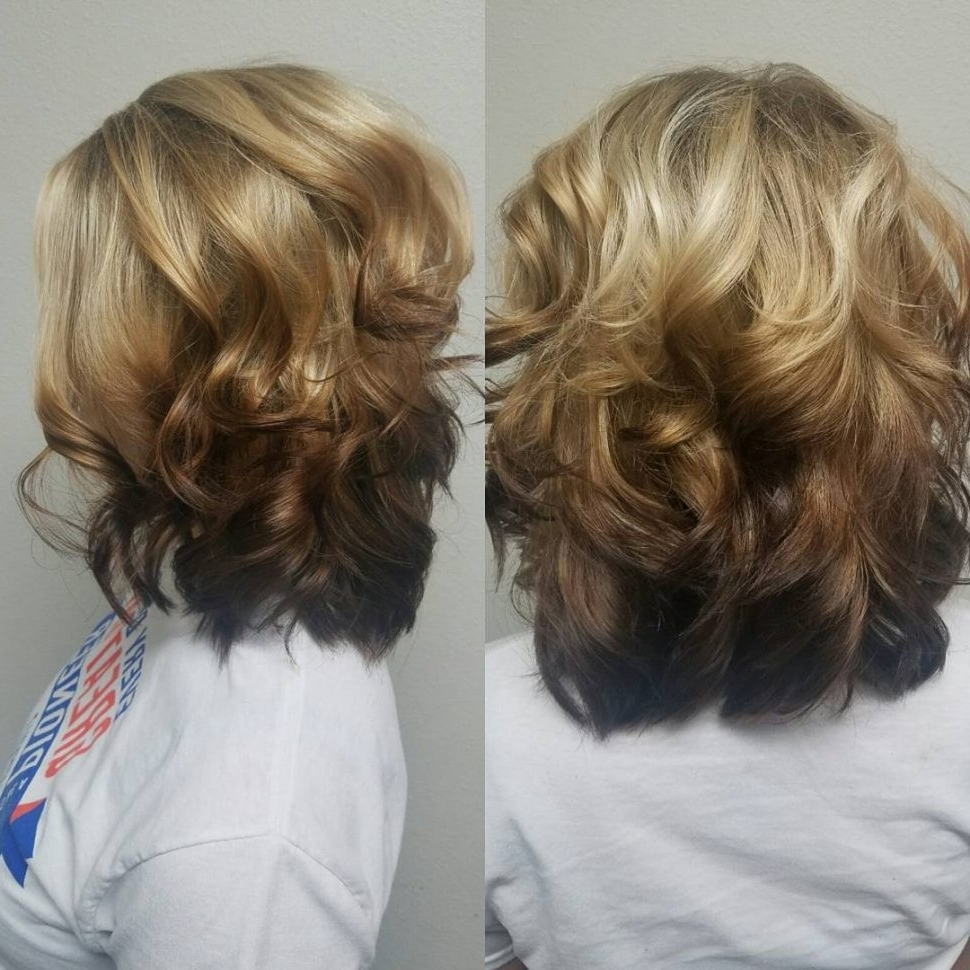 Hair Color : Reverse Ombre Blonde To Brown Excellent Dirty Hair Regarding Most Recent Reverse Gray Ombre Pixie Hairstyles For Short Hair (View 11 of 20)