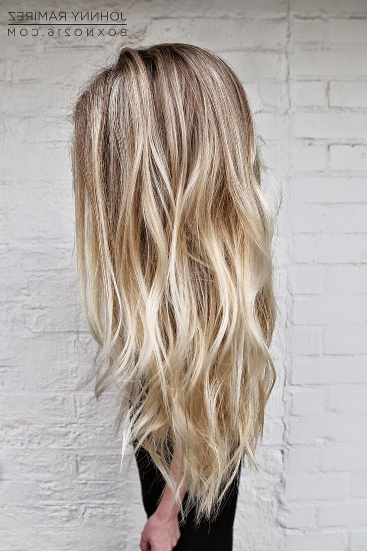 Hair Color Trends 2017/ 2018 – Highlights : Beachy Blonde Hair Hair For Most Recently Released Beachy Waves Hairstyles With Blonde Highlights (View 13 of 20)