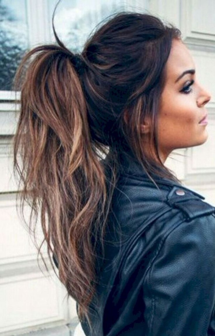 Hair Dos, Hair Ideas And Hairdos With Fashionable Stylish Supersized Ponytail Hairstyles (View 7 of 20)