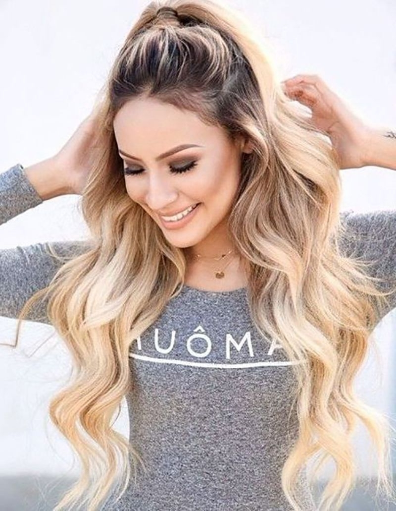 Featured Photo of Half Ponytail Hairstyles