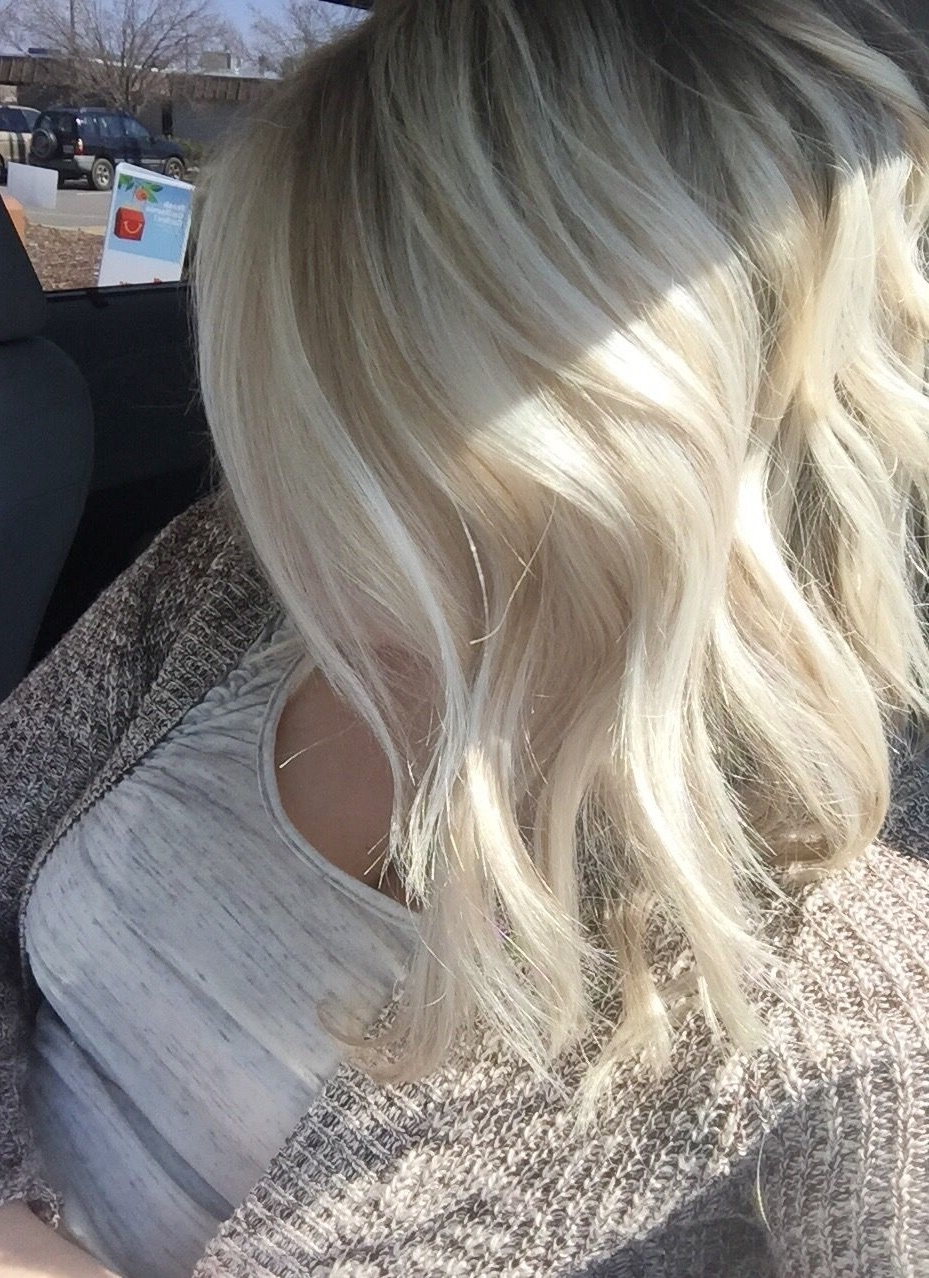 Hair Me Out Intended For Current Messy Blonde Lob With Lowlights (View 10 of 20)