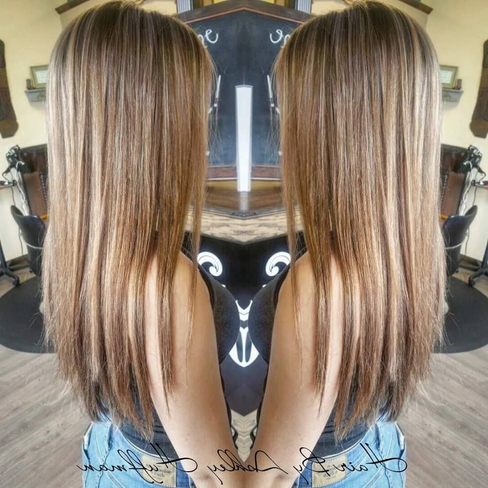 Hair Painting Honey Dipped Brown With Honey Butter Blonde Highlights Throughout Recent Maple Bronde Hairstyles With Highlights (View 10 of 20)