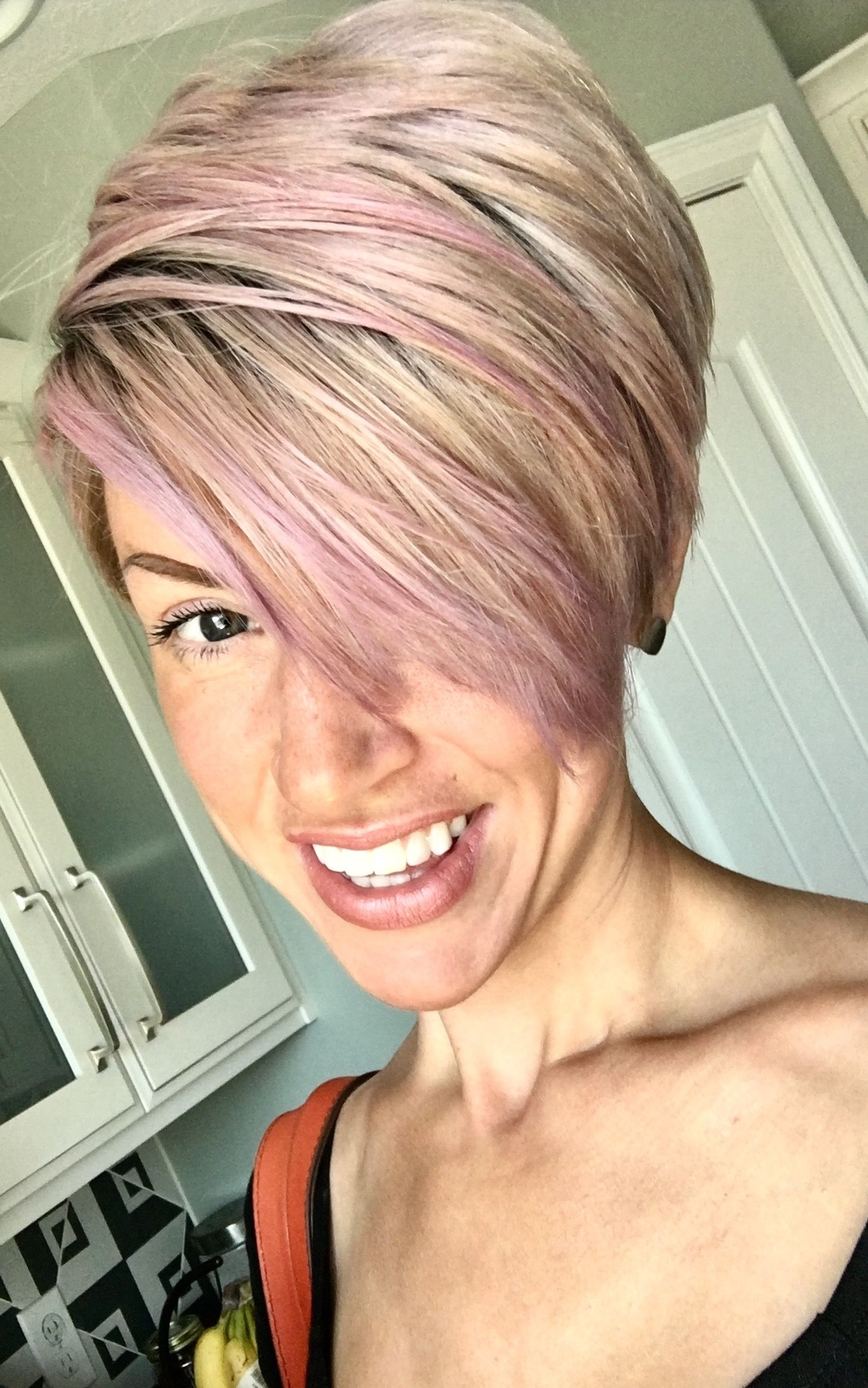 Hair Pertaining To Most Current Rose Gold Pixie Hairstyles (View 7 of 20)