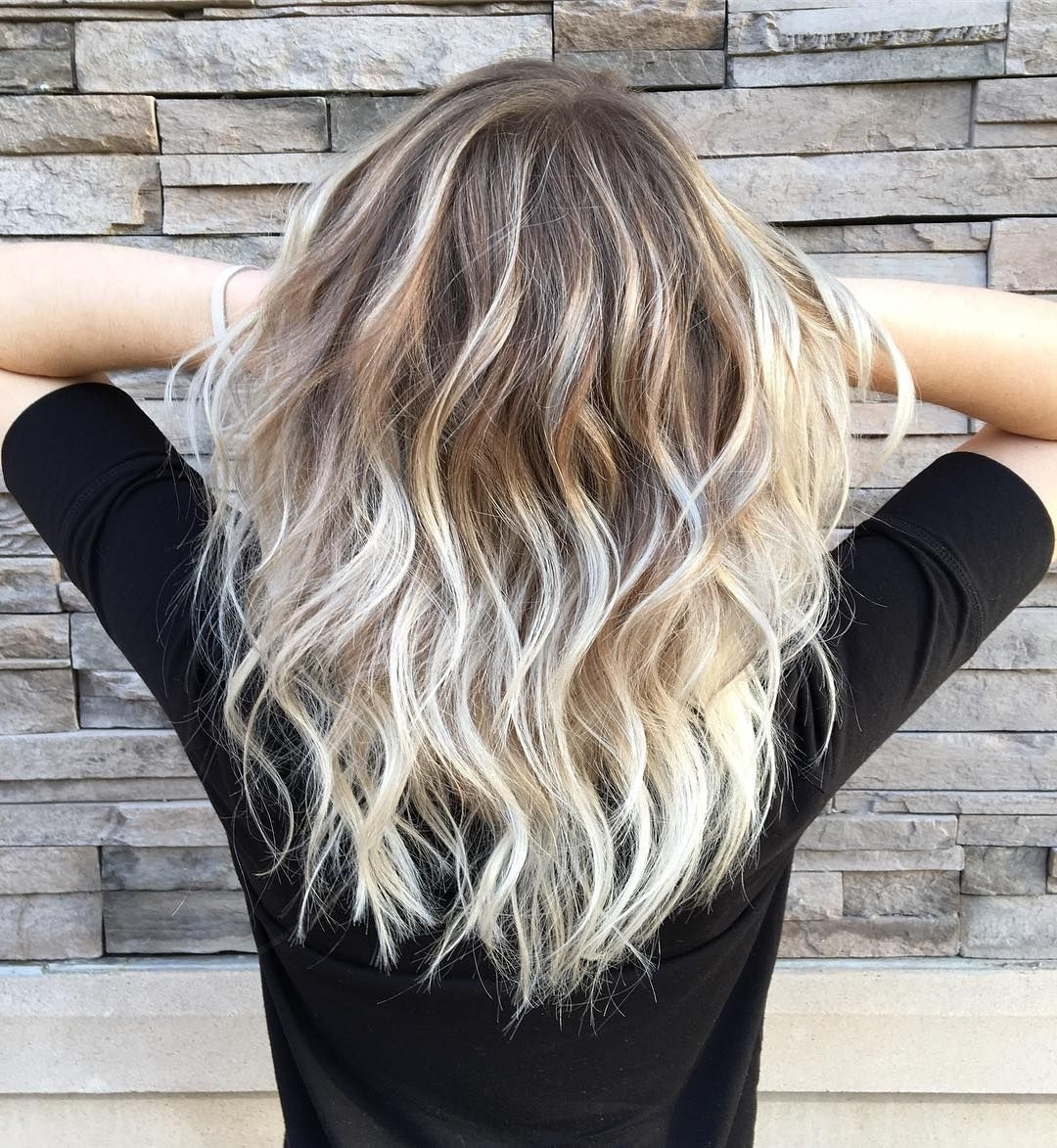 Hair Regarding Most Popular Blonde Color Melt Hairstyles (View 12 of 20)
