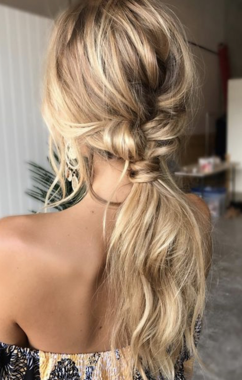 Hair Style, Hair Throughout Fashionable Loose Messy Ponytail Hairstyles For Dyed Hair (View 11 of 20)