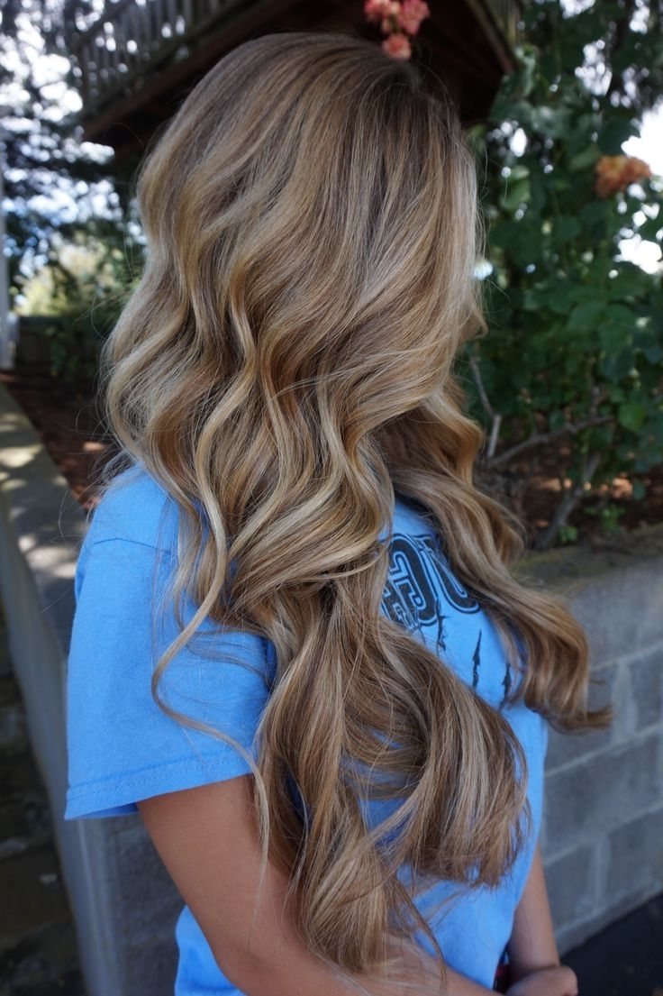 Hair Style Inspiration : Balayage Dirty Blonde Blend (View 11 of 20)