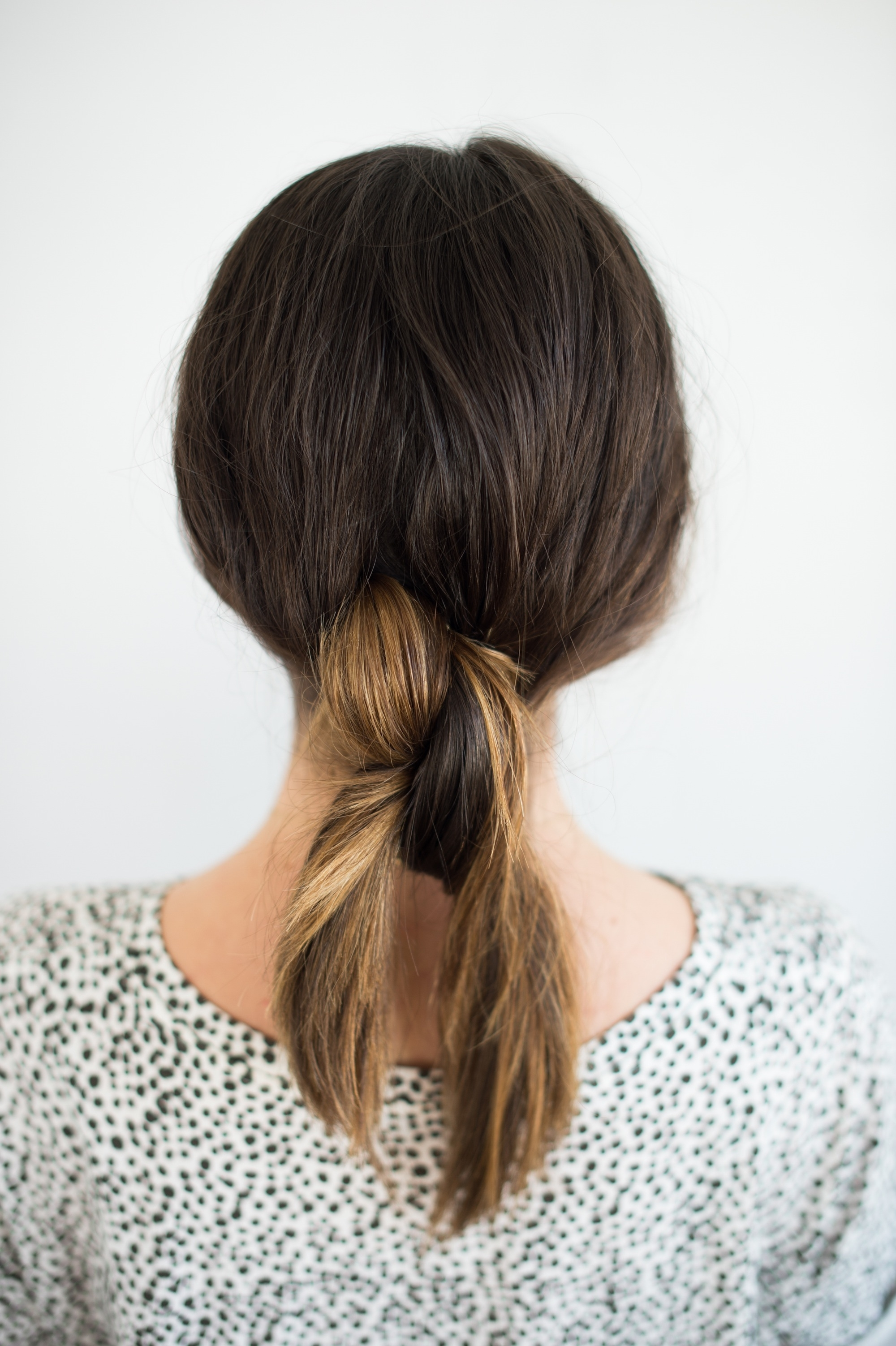 Hair Tutorial // The Double Knotted Pony – The Effortless Chic In Newest Knotted Ponytail Hairstyles (View 11 of 20)
