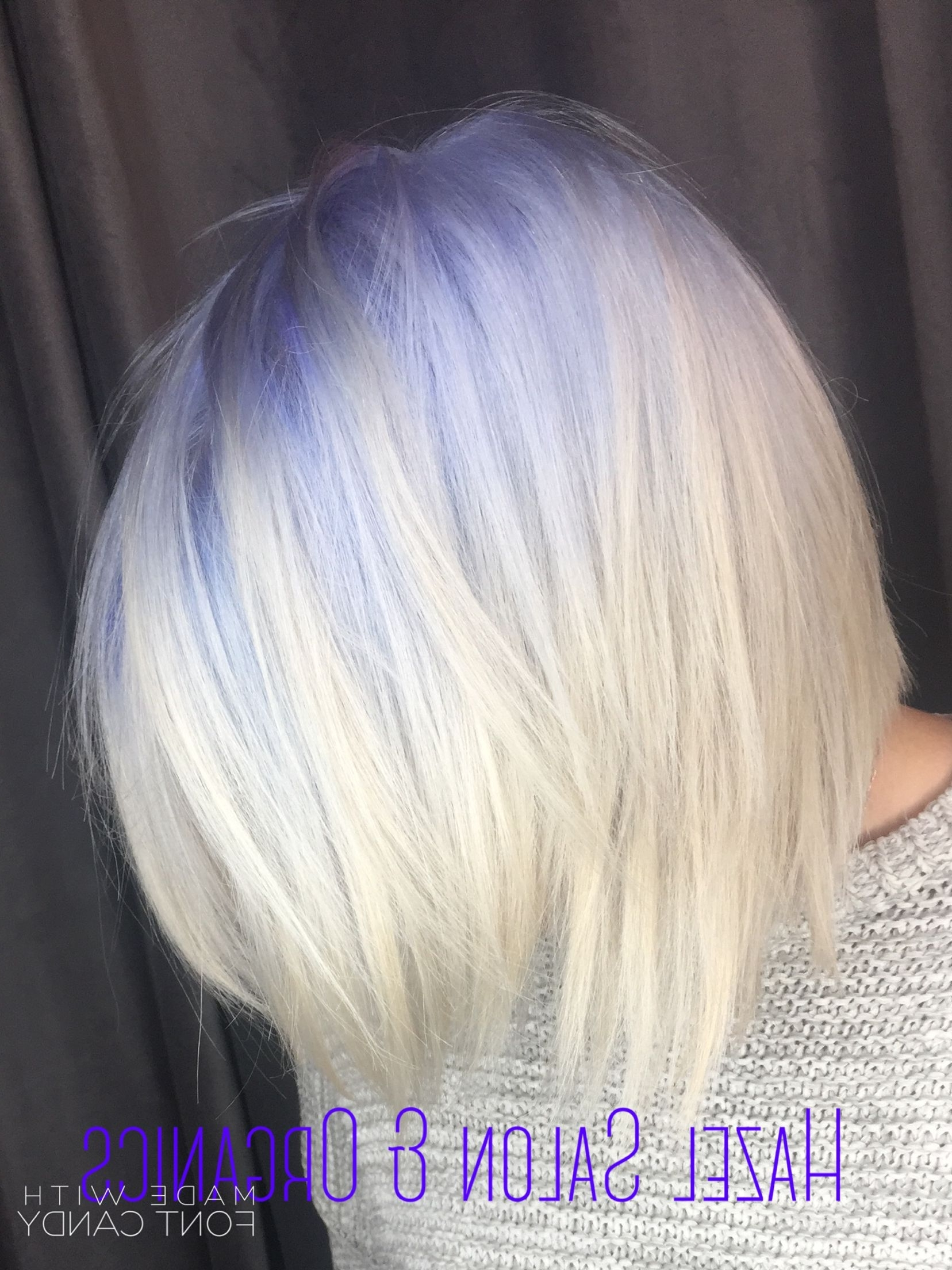Hair We've Done Inside Newest Voluminous Platinum And Purple Curls Blonde Hairstyles (View 11 of 20)