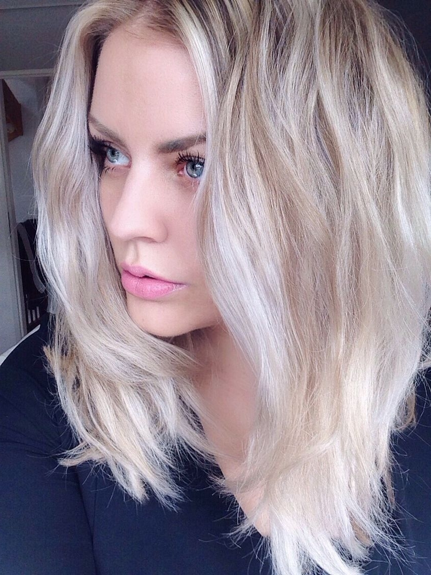 Hair With Regard To Well Known Long Blonde Bob Hairstyles In Silver White (View 8 of 20)