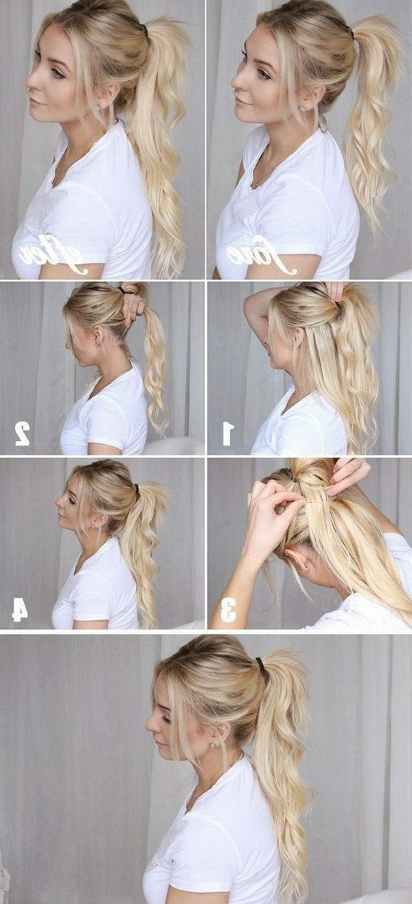 Hair Within Favorite Ponytail Hairstyles For Fine Hair (View 8 of 20)