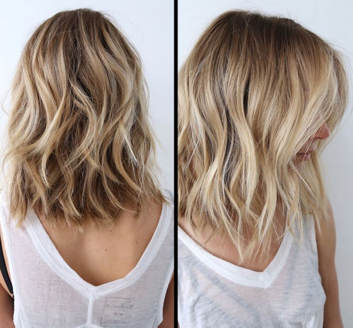 Haircut Ideas Regarding Well Known Long Bob Blonde Hairstyles With Babylights (View 8 of 20)