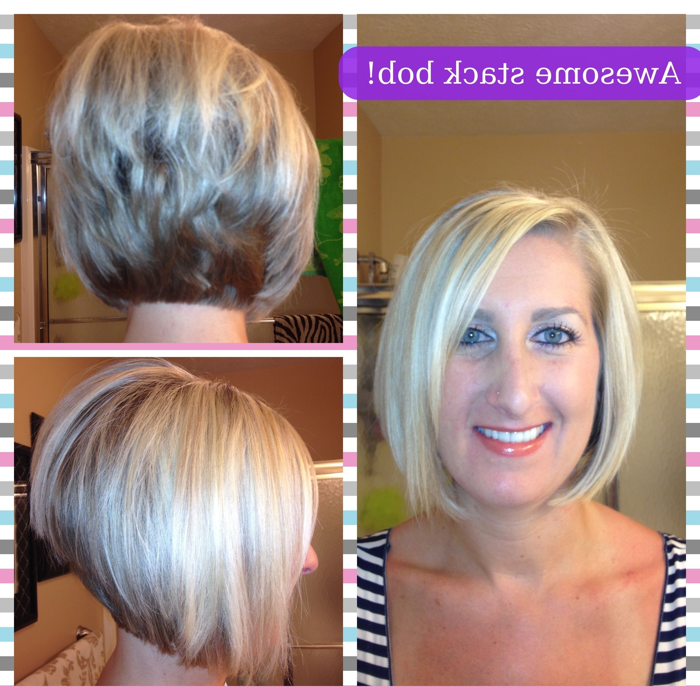 Haircuts Regarding Current Voluminous Stacked Cut Blonde Hairstyles (View 10 of 20)