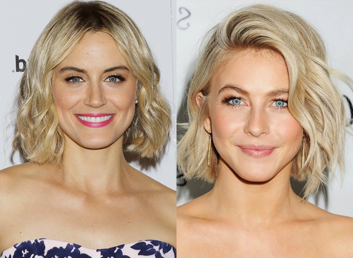 Hairdrome Regarding Fashionable Wavy Blonde Bob Hairstyles (View 13 of 20)