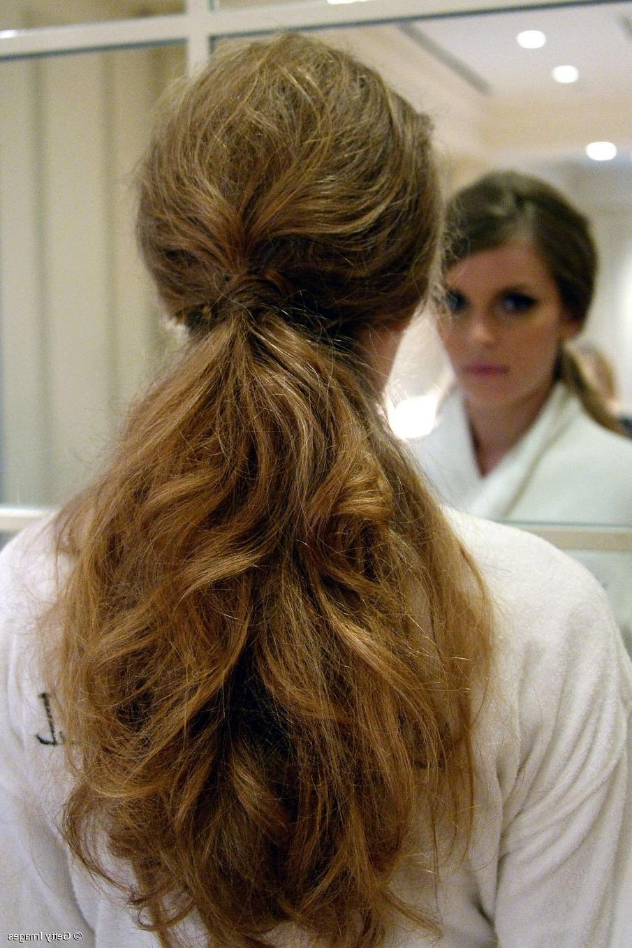 Hairstyle Trends: 3 Ways To Wear A Low Ponytail Throughout Most Recent Messy Low Ponytail Hairstyles (View 7 of 20)