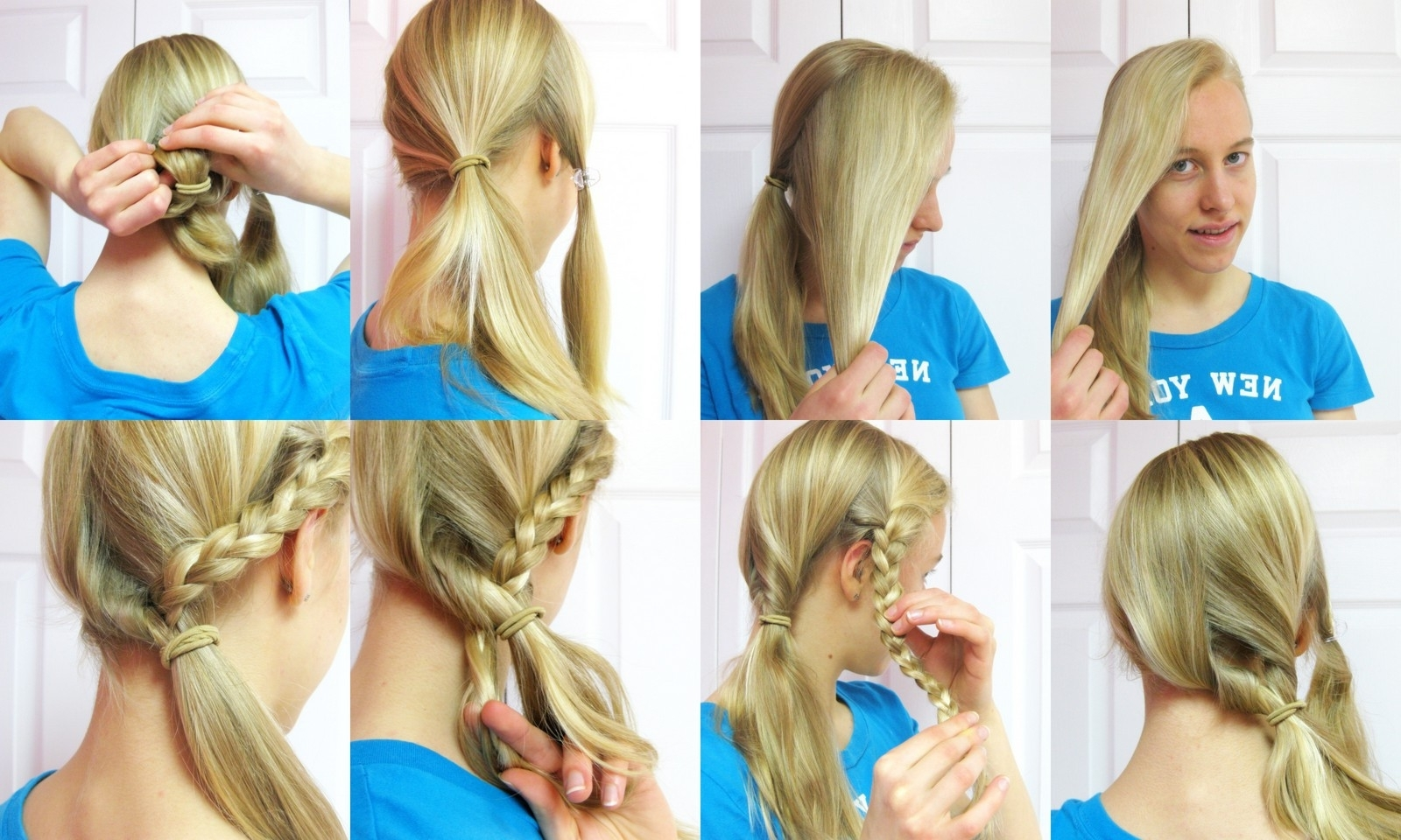 Hairstyle Tutorial: Side Ponytail With A Braid (View 8 of 20)