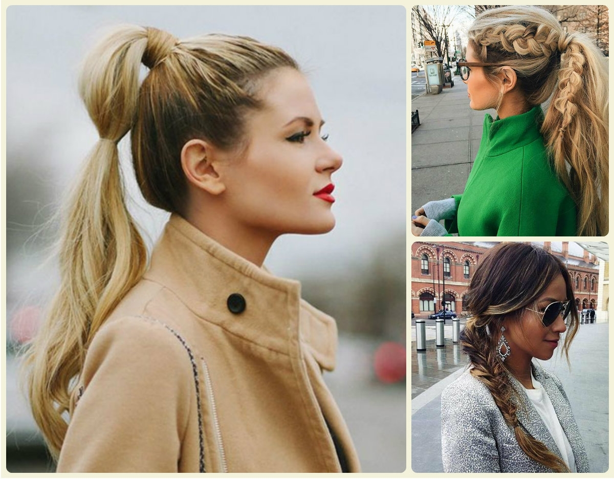 Hairstyles 2017, Hair For Most Current Sleek Bubble Ponytail Hairstyles (View 13 of 20)