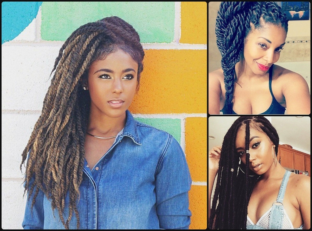 Hairstyles 2017, Hair With Regard To Current Black Layered Senegalese Twists Pony Hairstyles (View 11 of 20)
