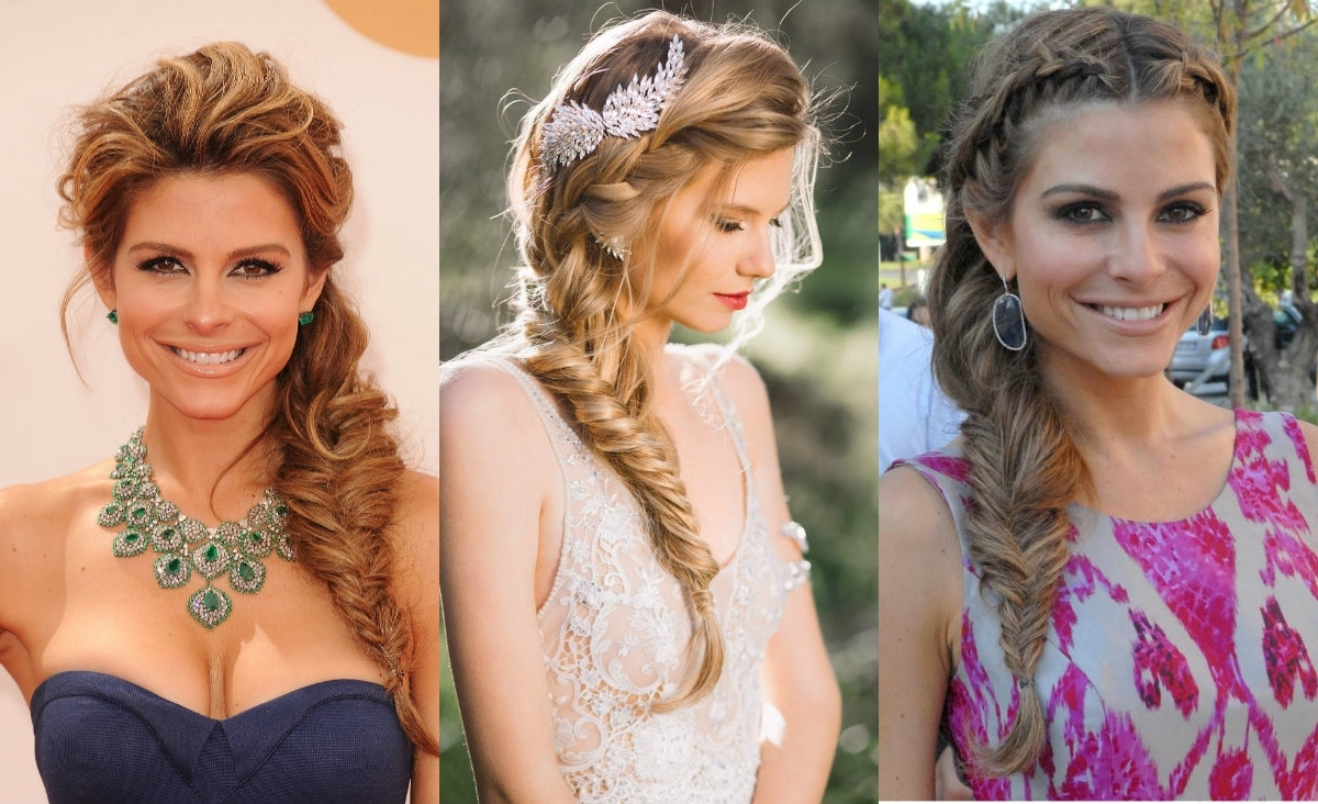 Hairstyles, Haircuts And Hair For Most Current Wavy Side Fishtail Hairstyles (View 12 of 20)