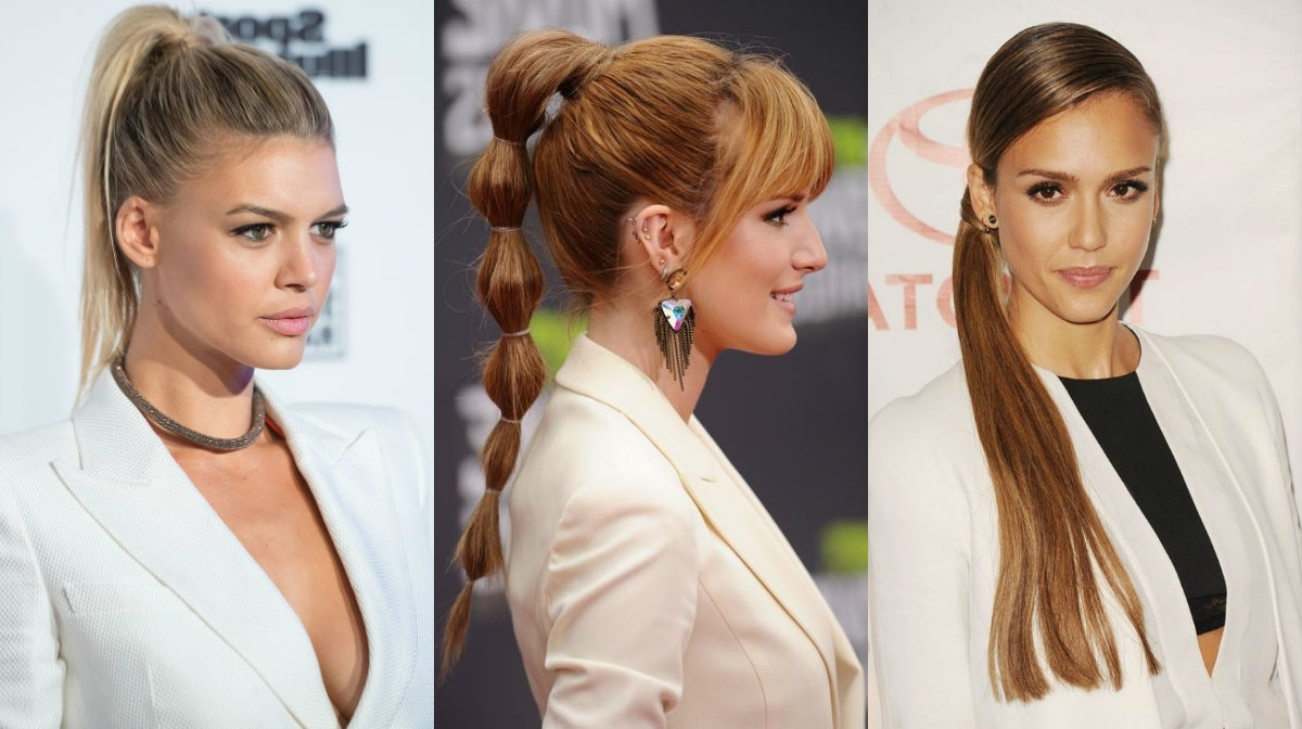 Hairstyles Regarding Most Popular High Bubble Ponytail Hairstyles (View 8 of 20)