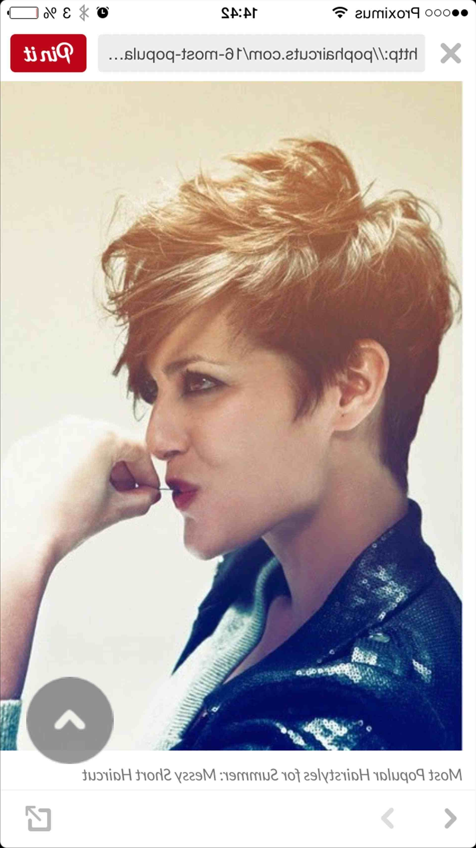 Hairstyles Rocker Hairstyle Great Short Edgy Haircuts U Styles Inside 2018 Rocker Pixie Hairstyles (View 19 of 20)