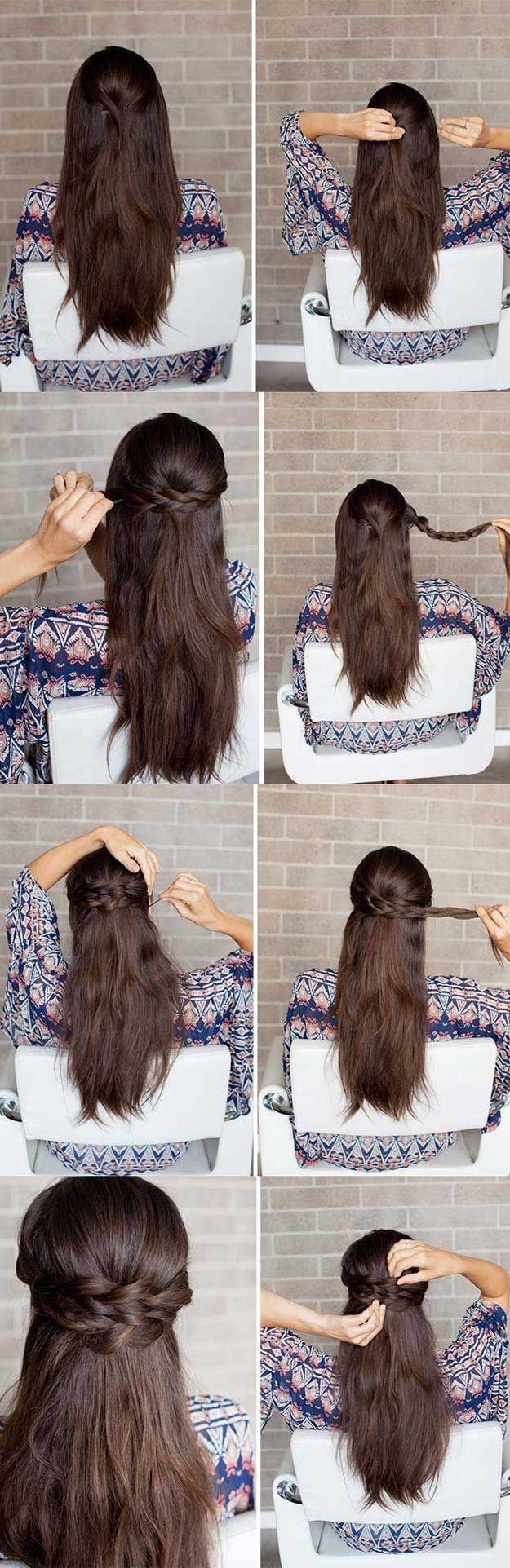 Hairstyles With Famous Midi Half Up Half Down Ponytail Hairstyles (View 14 of 20)