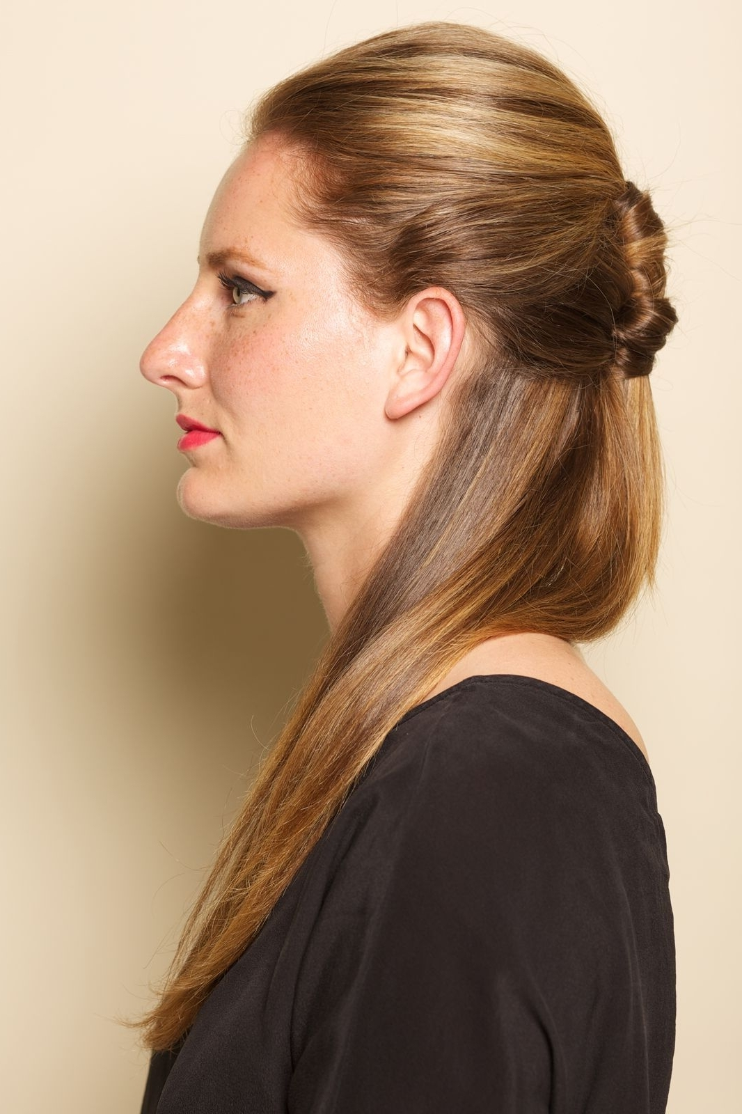 Half Ponytail Diy – Hair How To, Easy Hairstyles (View 12 of 20)