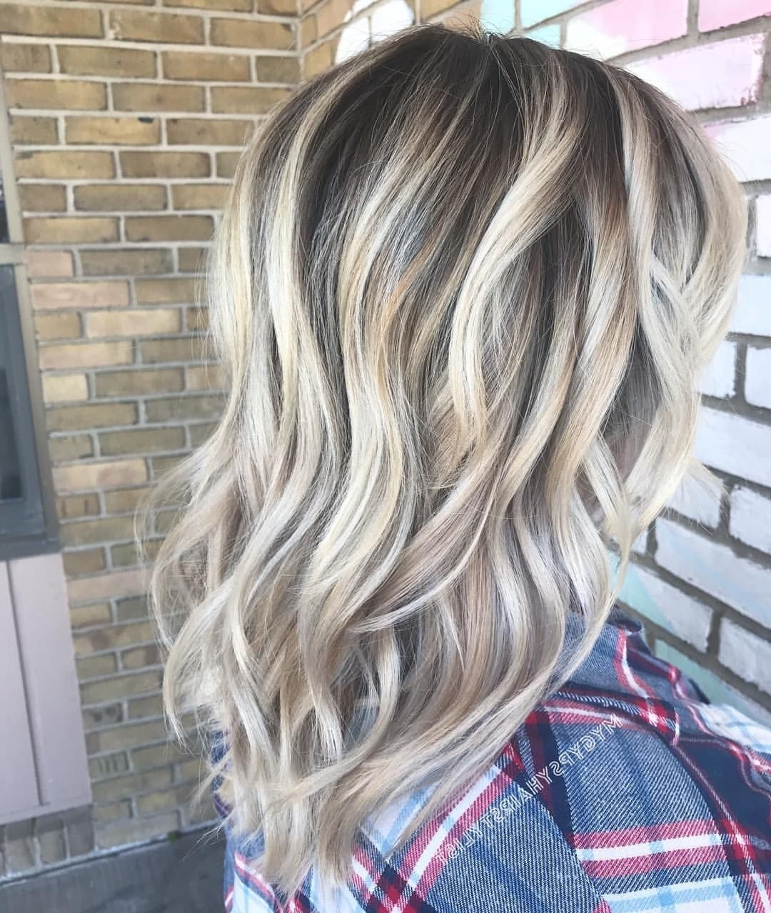 High Contrast Balayage/ Blonde Hair/ Blonde Balayage/ Blonde For Most Popular Contrasting Highlights Blonde Hairstyles (View 13 of 20)