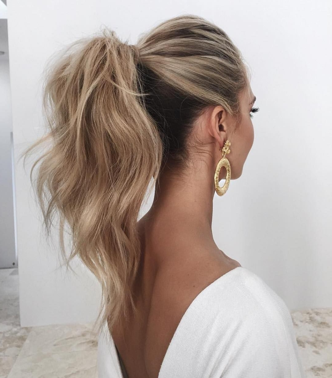 High With Widely Used Black And Luscious Pony Hairstyles (View 6 of 20)