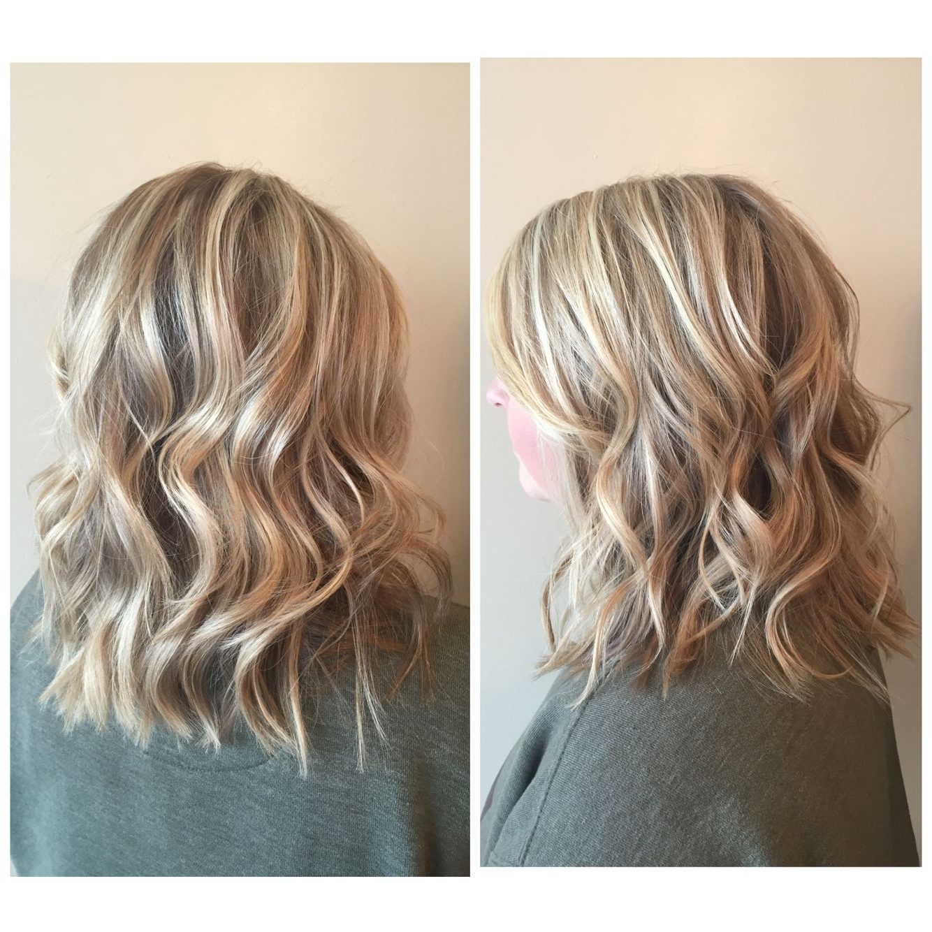 Highlights And Lowlights For This Blonde Lob (View 11 of 20)