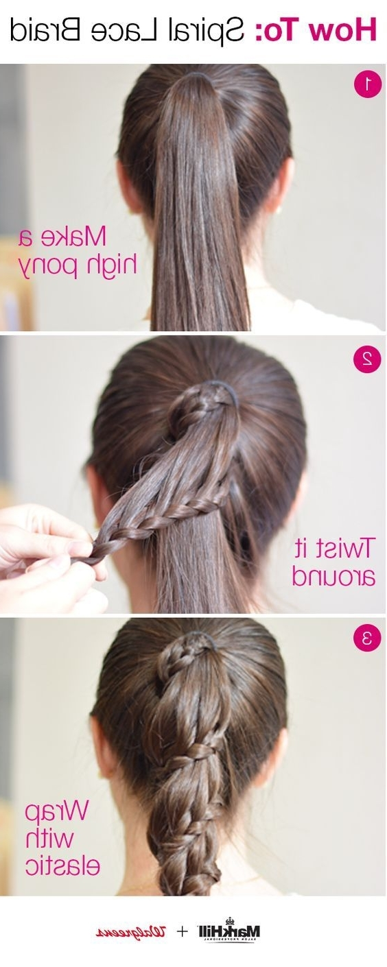 Holiday Hair Takes A New Twist With An Easy Approach To This Pertaining To Preferred Three Braids To One Ponytail Hairstyles (View 15 of 20)