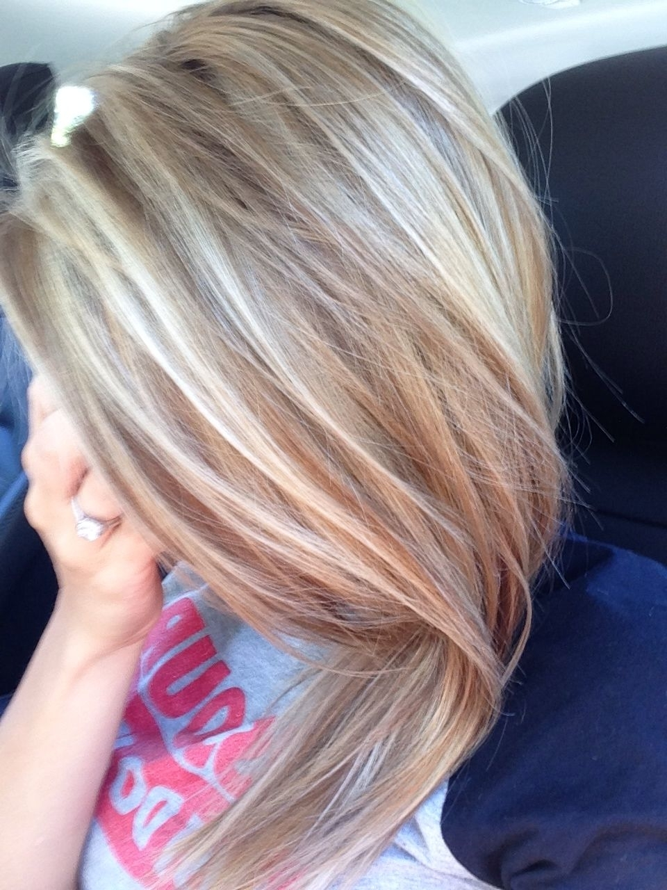 Honey/ash Blonde Highlights (View 7 of 20)