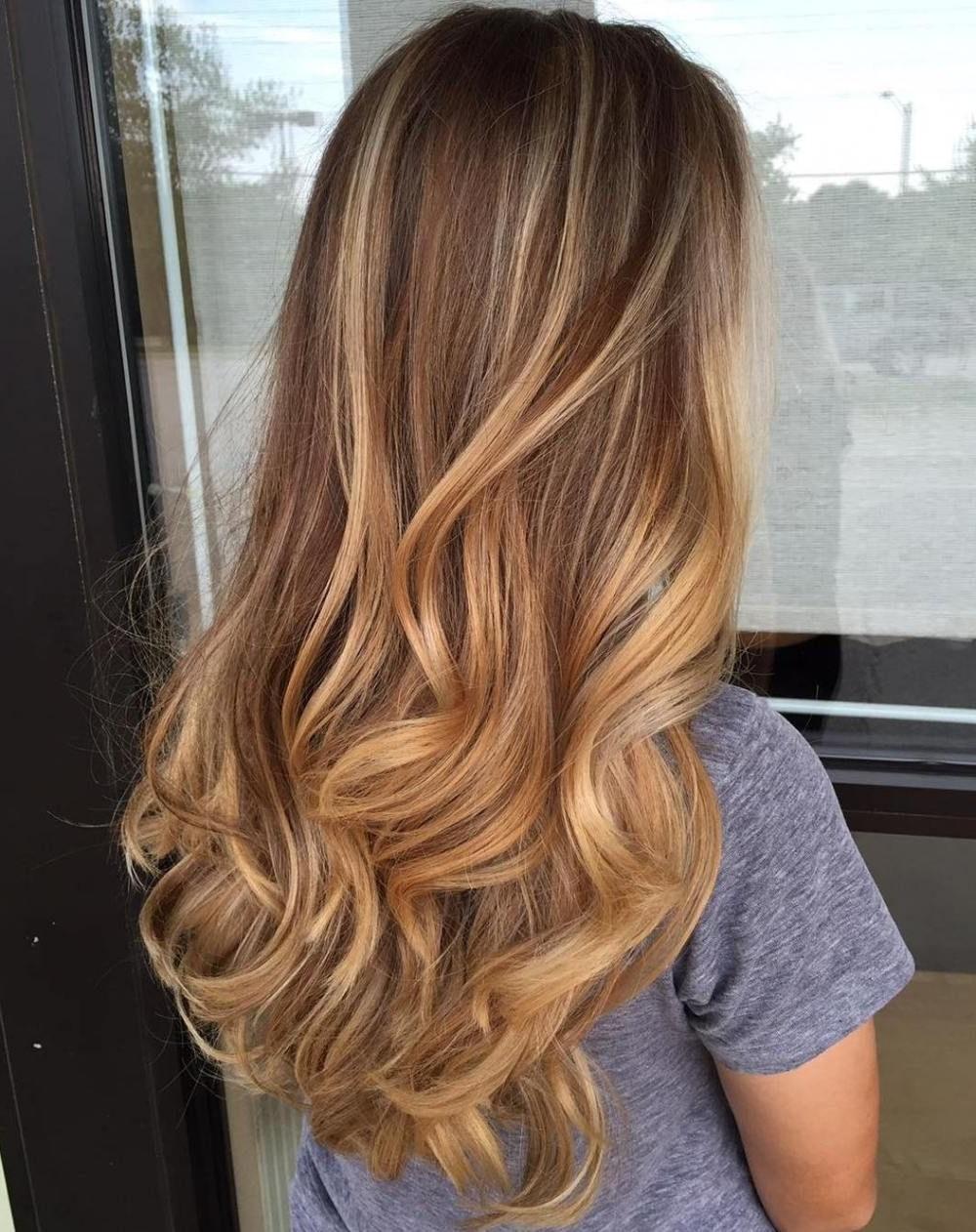 Honey Blonde Balayage Hair (View 13 of 20)