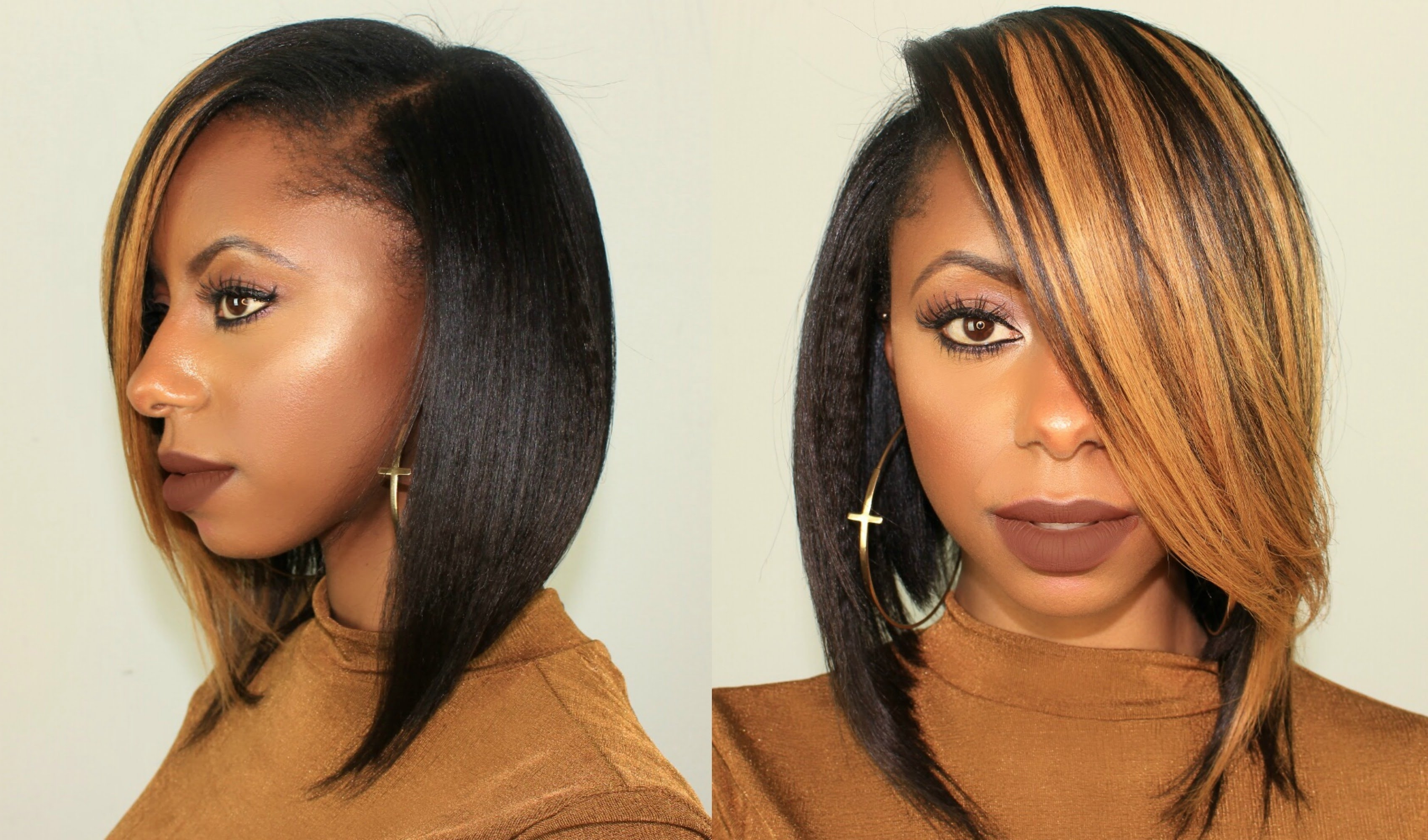 Honey Blonde Long Bob Hairstyle Ft Krshairgroup + 100K Giveaway In Newest Long Honey Blonde And Black Pixie Hairstyles (View 9 of 20)