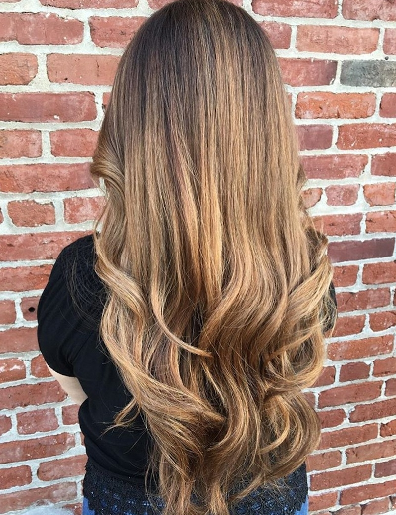Honey Glazed Dark Blonde Balayage Haircolor (View 10 of 20)