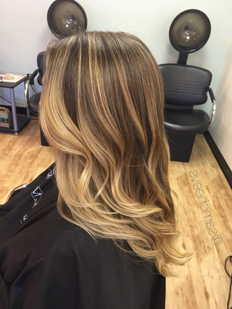 Honey Platinum Baby Blonde Color On Golden Long Dirty Blonde And In 2017 Dirty Blonde Hairstyles (View 8 of 20)