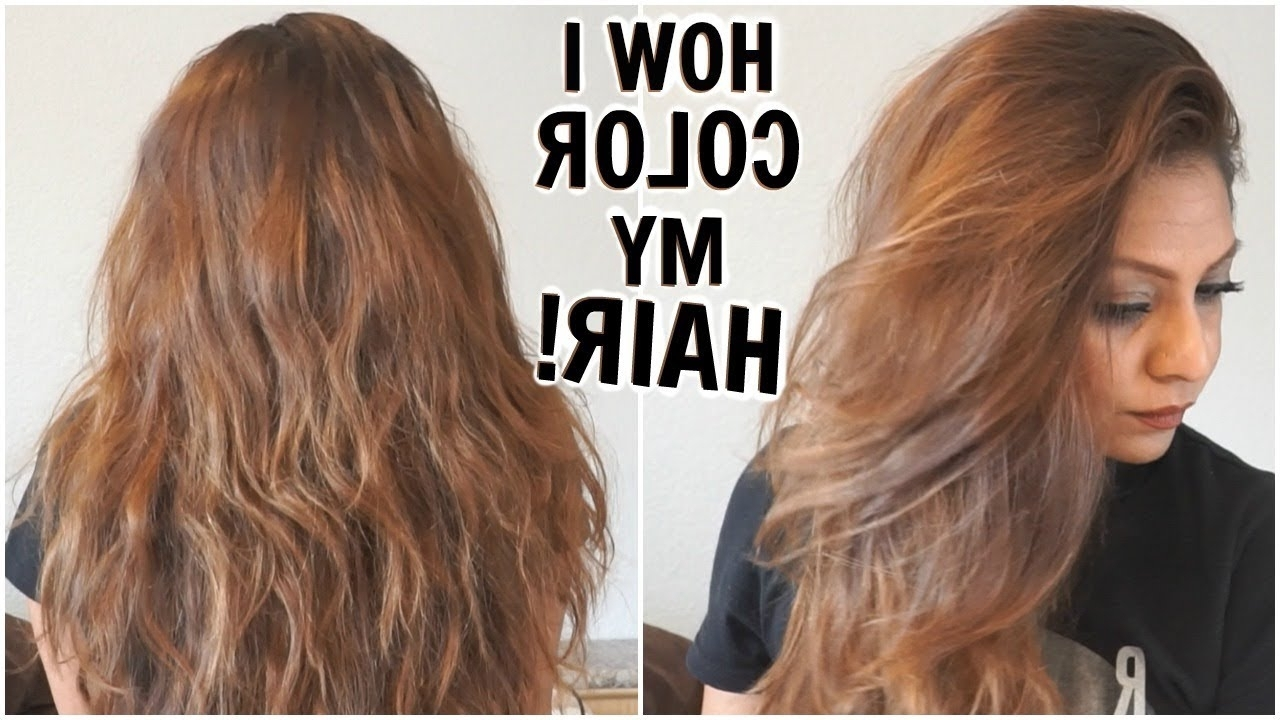 How I Dye My Hair Light Golden Brown At Home│How I Color My Hair Inside Fashionable Amber And Gold Blonde Hairstyles (View 13 of 20)