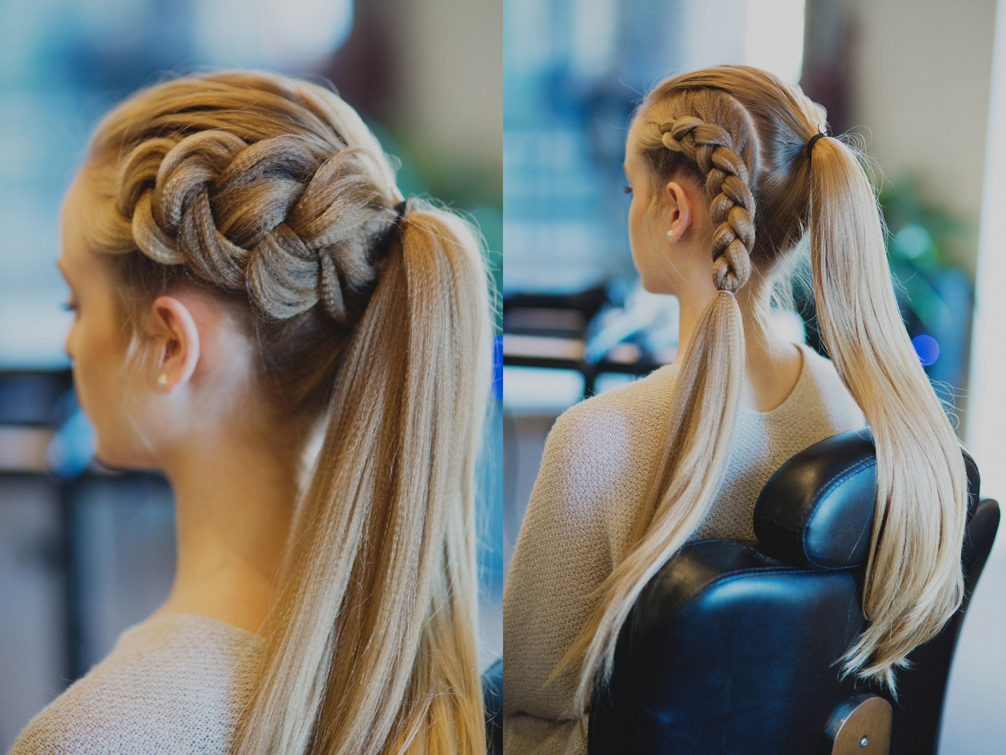 How To Create A Voluminous Viking Braid Pertaining To 2017 Dutch Braid Pony Hairstyles (Gallery 18 of 20)