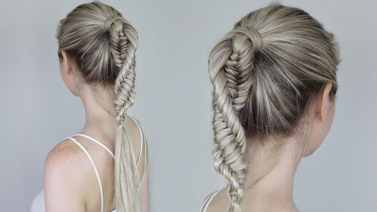 How To: Dna Braid / Coolest Braid For Summer – Youtube Intended For Most Current Macrame Braid Hairstyles (View 12 of 20)