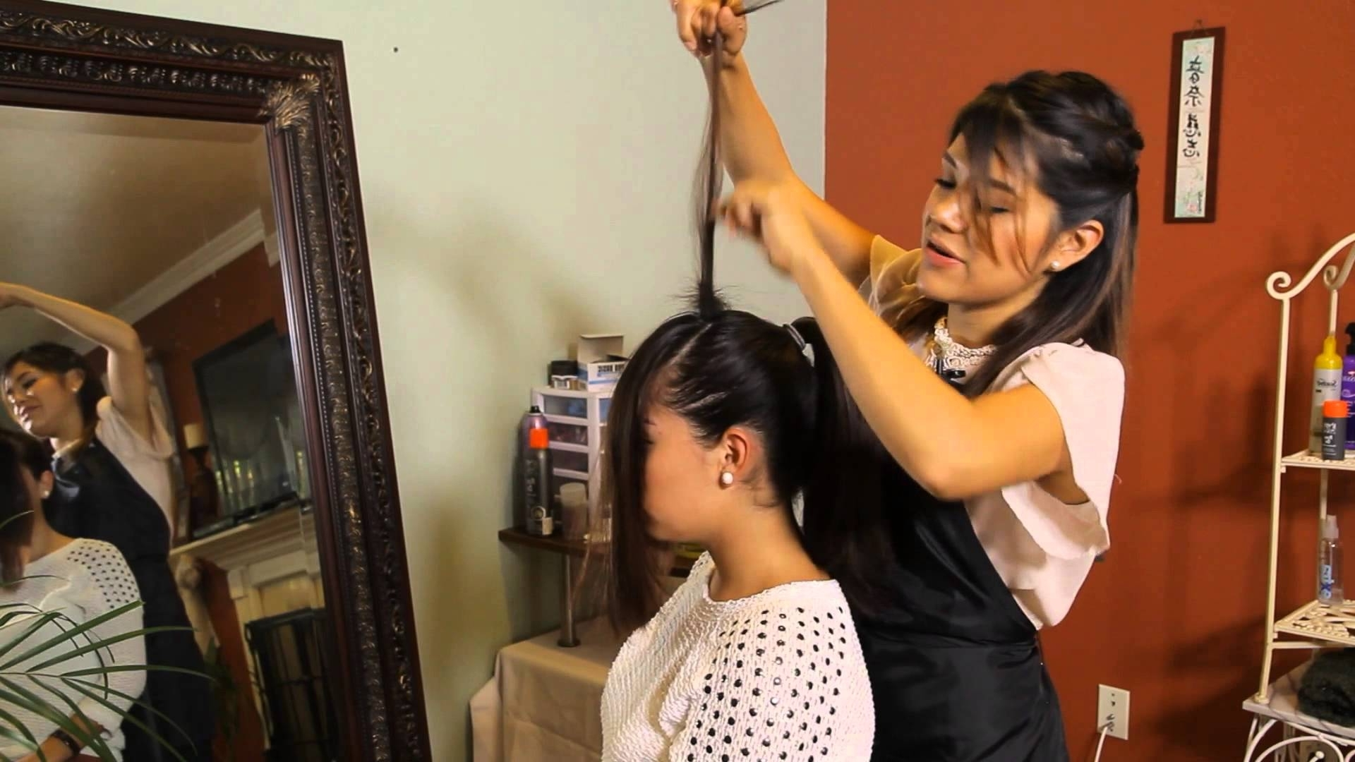 How To Do The Front Poof Ponytail : Tress To Impress – Youtube Pertaining To Widely Used Updo Ponytail Hairstyles With Poof (View 15 of 20)