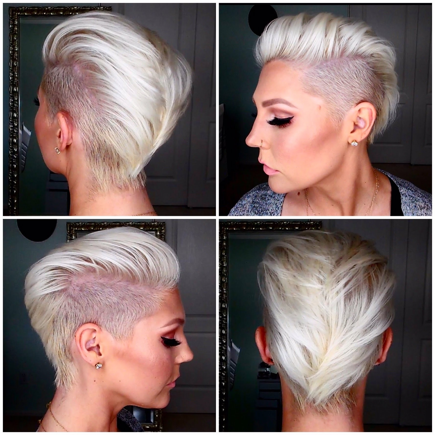How To Get & Maintain Short Platinum Blonde Hair – Youtube In Well Liked White Blonde Hairstyles With Dark Undercut (View 8 of 20)