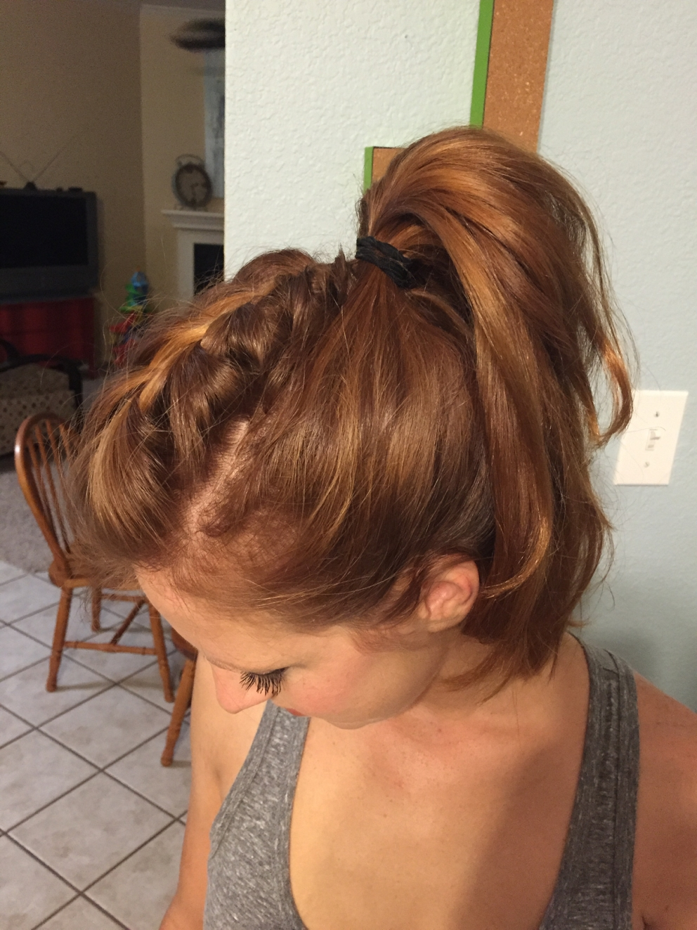How To Get The Perfect Mohawk Ponytail – Perky Pony In Trendy Mohawk Braid And Ponytail Hairstyles (View 15 of 20)