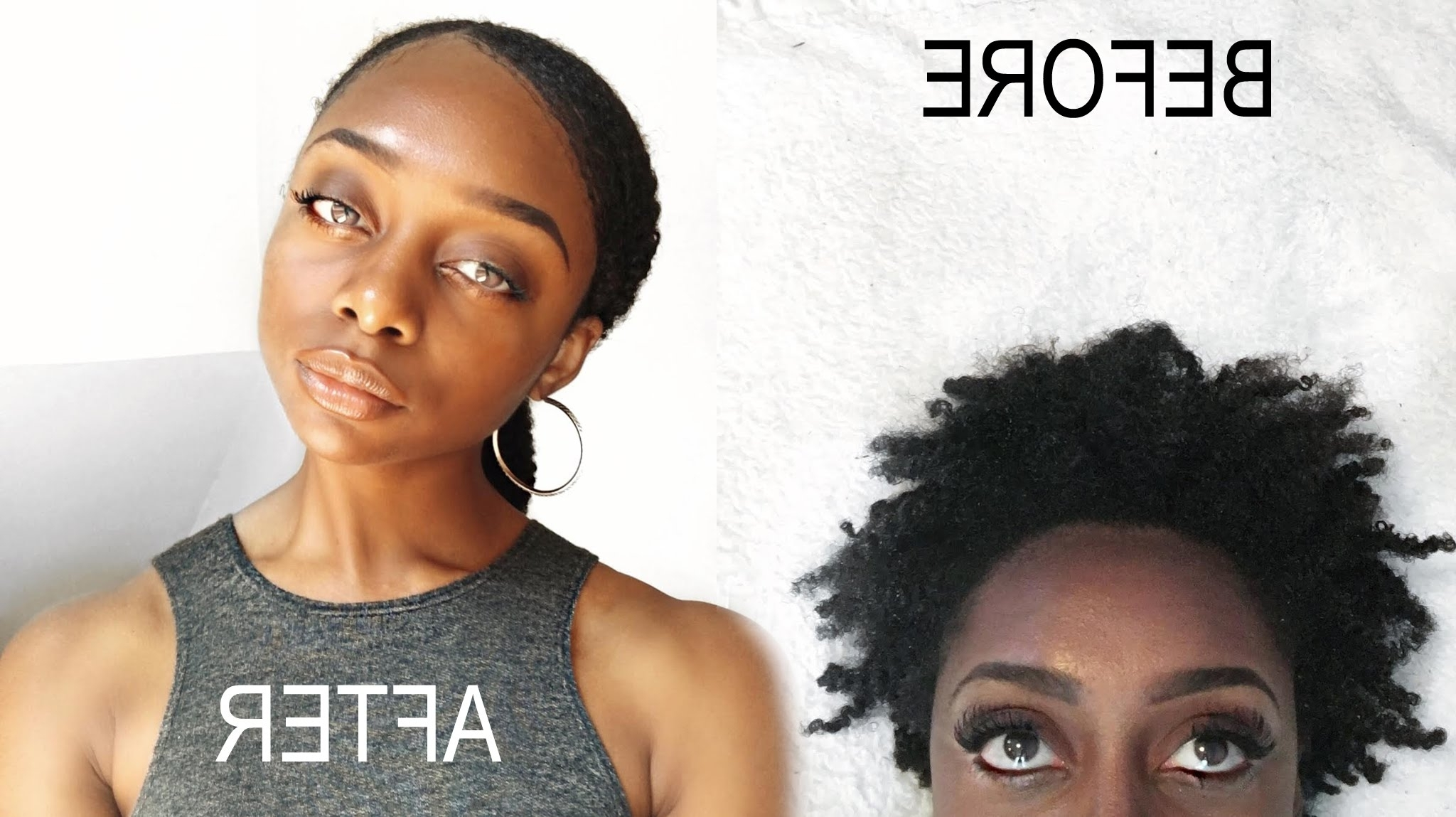 How To: Sleek Low Pony Tail On Short 4B/4C Natural Hair Intended For Newest Tight And Sleek Ponytail Hairstyles (View 11 of 20)