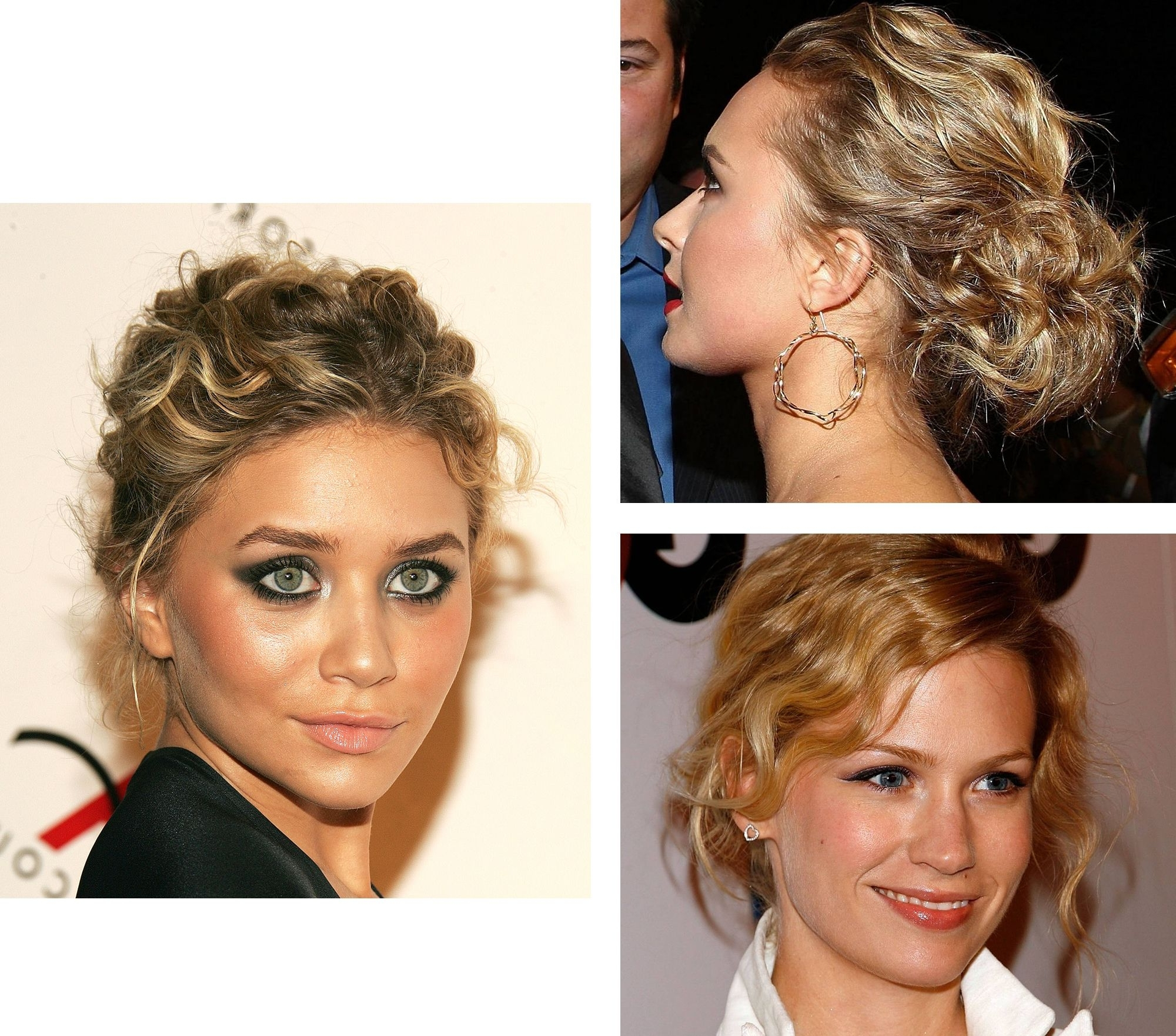 How To Wear A Messy Ponytail With Short Curly Hair (View 6 of 20)