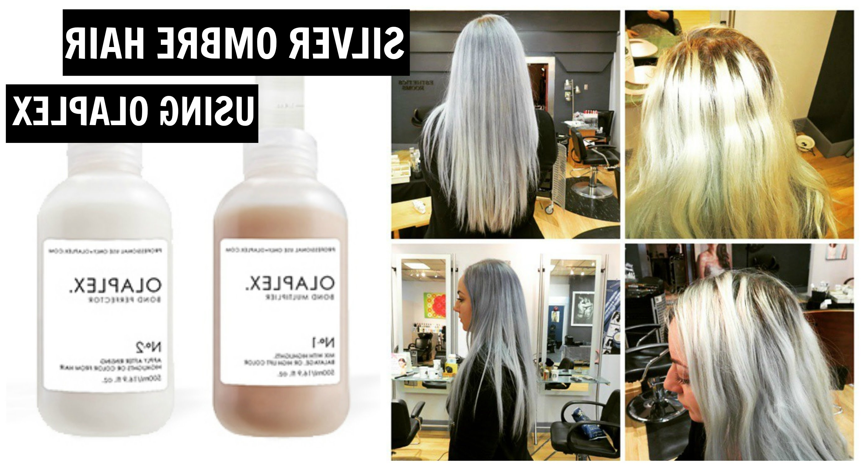 How To:bleach Hair & Silver Grey Ombre Tutorial – Using Olaplex (View 9 of 20)