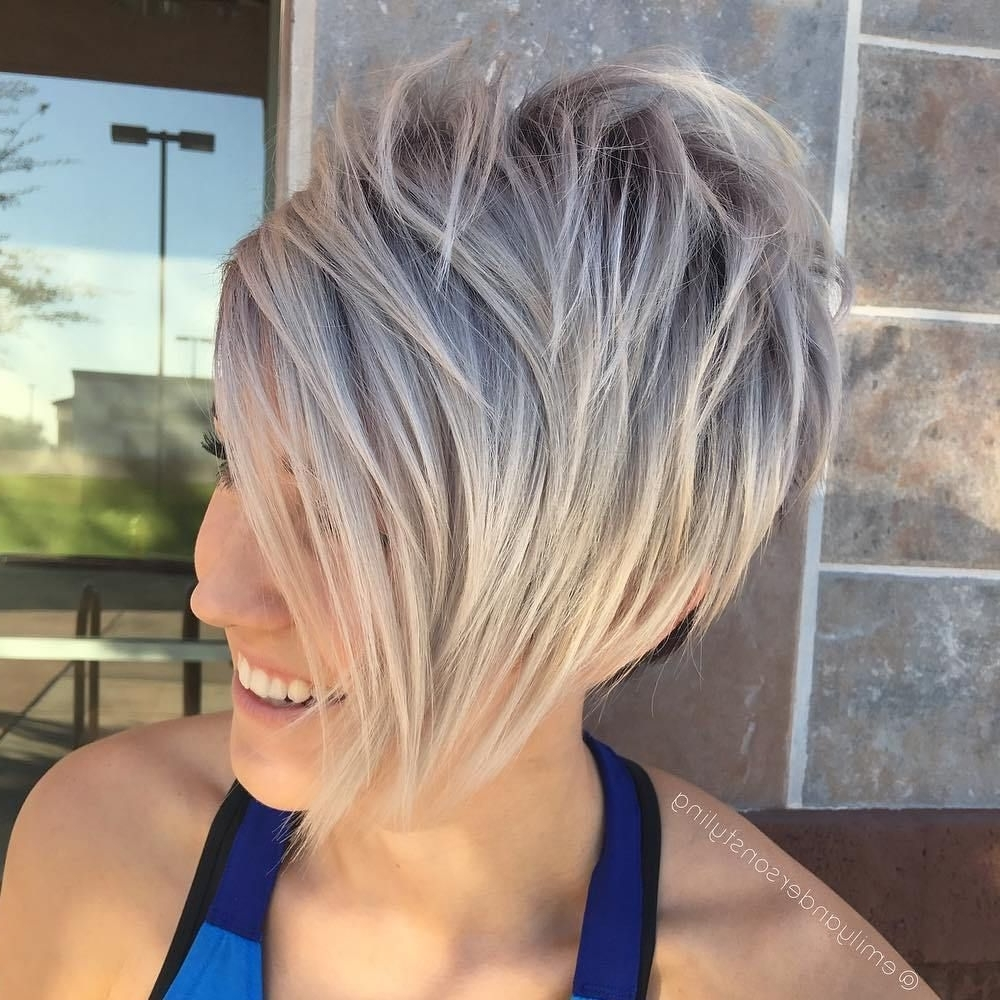 I Need A New In Best And Newest Ash Blonde Pixie Hairstyles With Nape Undercut (View 13 of 20)