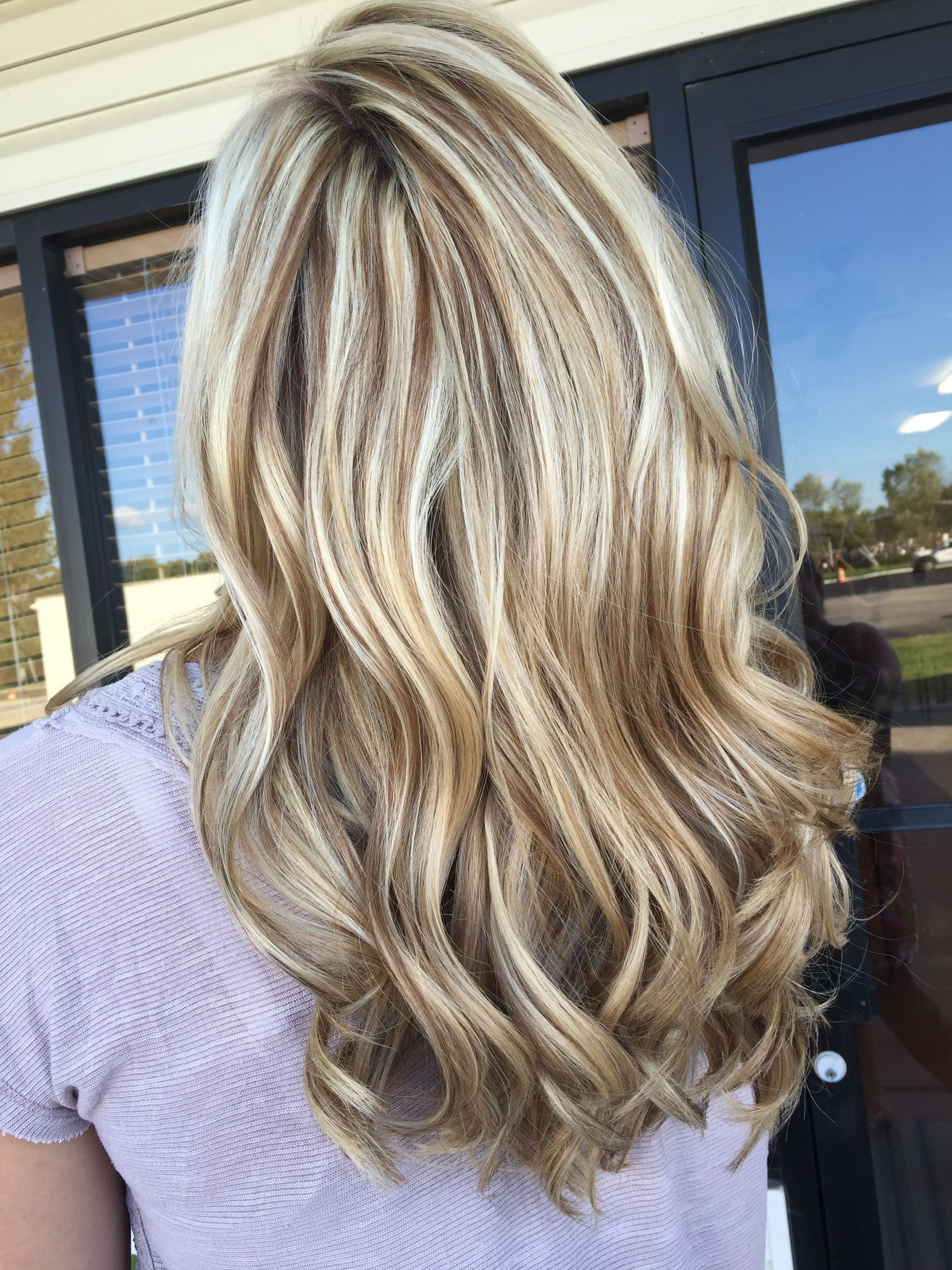Ice Blonde, Chocolate Brown Throughout Well Known Light Chocolate And Vanilla Blonde Hairstyles (View 9 of 20)