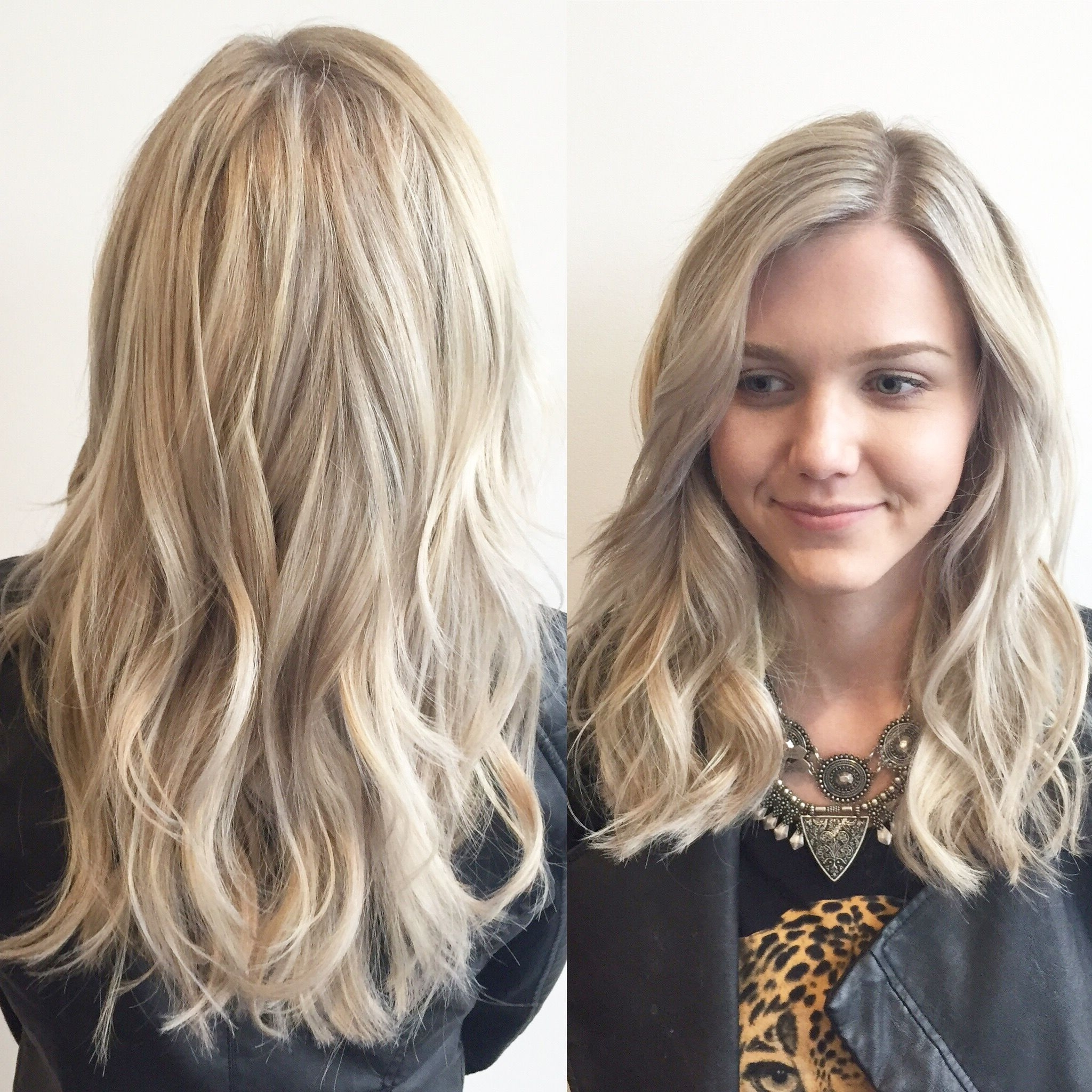 Icy Blonde Highlight With Soft Long Layers With Reverse Directional With Favorite Icy Highlights And Loose Curls Blonde Hairstyles (Gallery 13 of 20)
