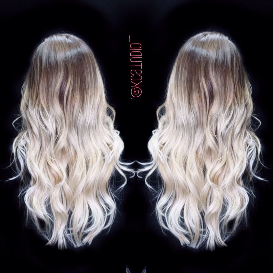 Icy Blonde Ombre Hair Color (Gallery 6 of 20)