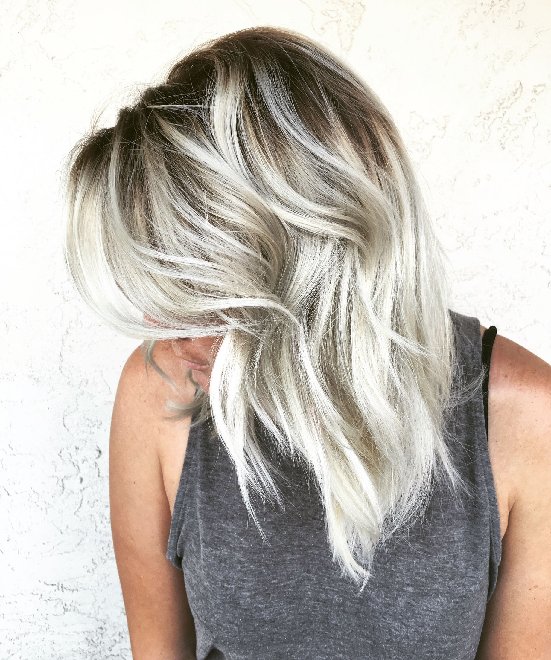 Icy Blonde Shadow Root Alchemyhair … (Gallery 4 of 20)