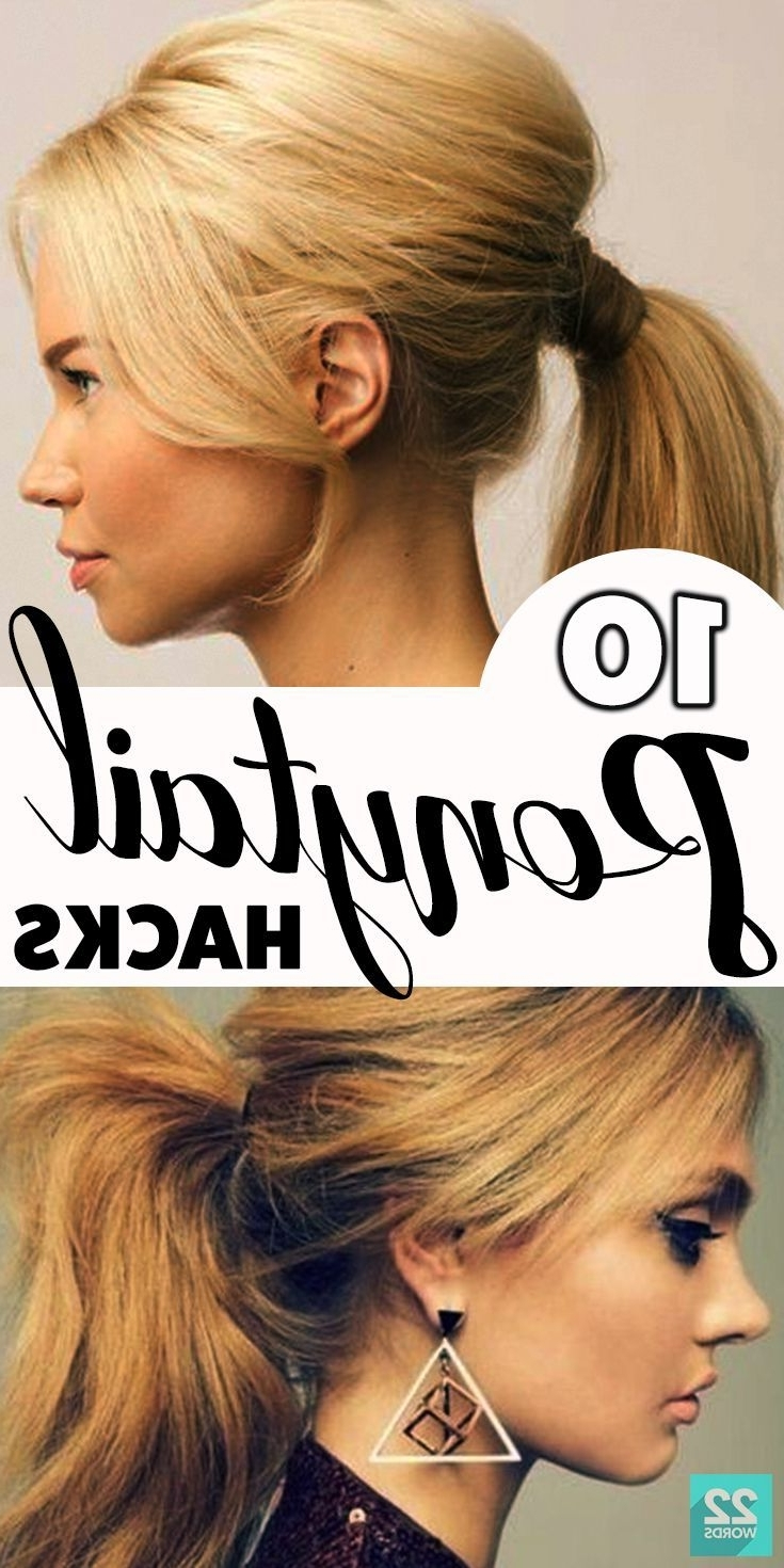 If You've Got Hair Long Enough For A Ponytail, You Probably Know In Current Poofy Ponytail Hairstyles With Bump (View 16 of 20)
